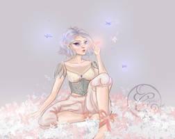 Dragonfly Girl : Lilith by midnightt-crystal