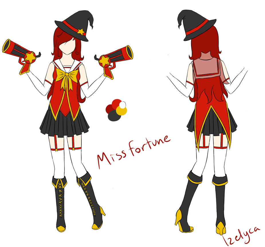 Magical Girl Miss Fortune by Izelyca