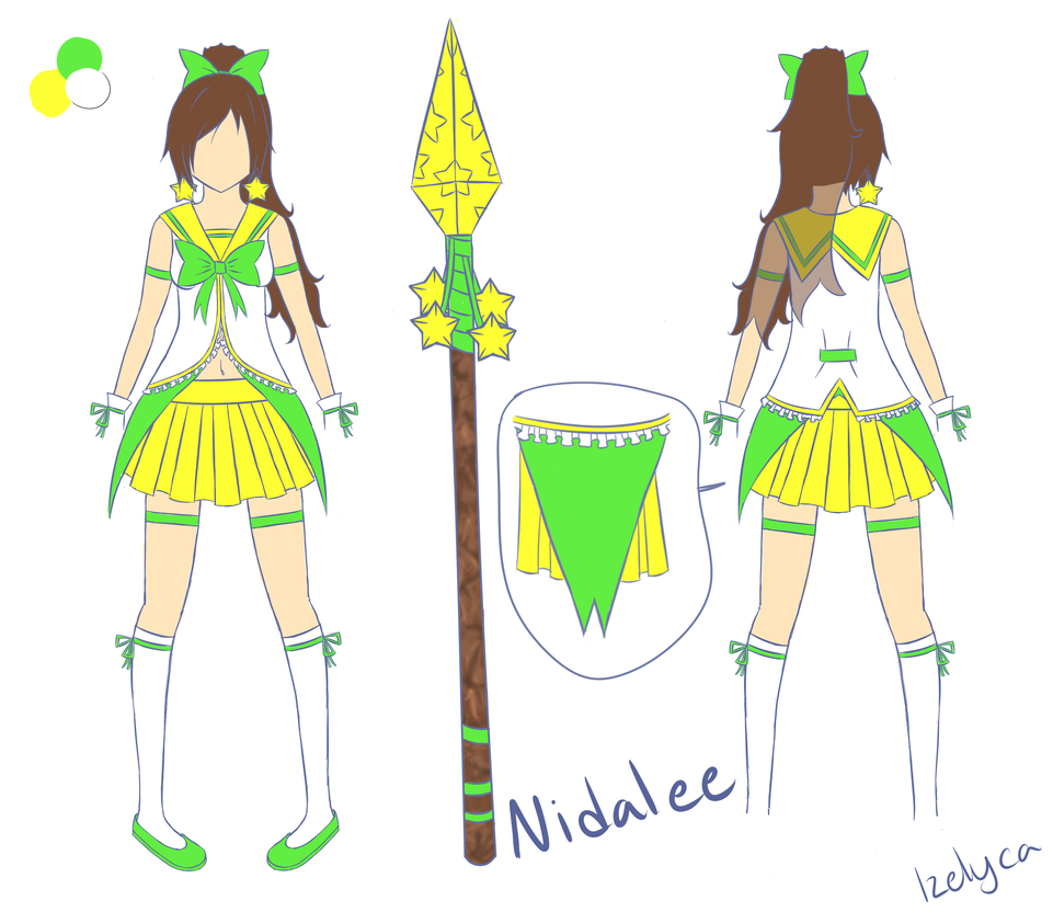 Magical Girl Nidalee by Izelyca