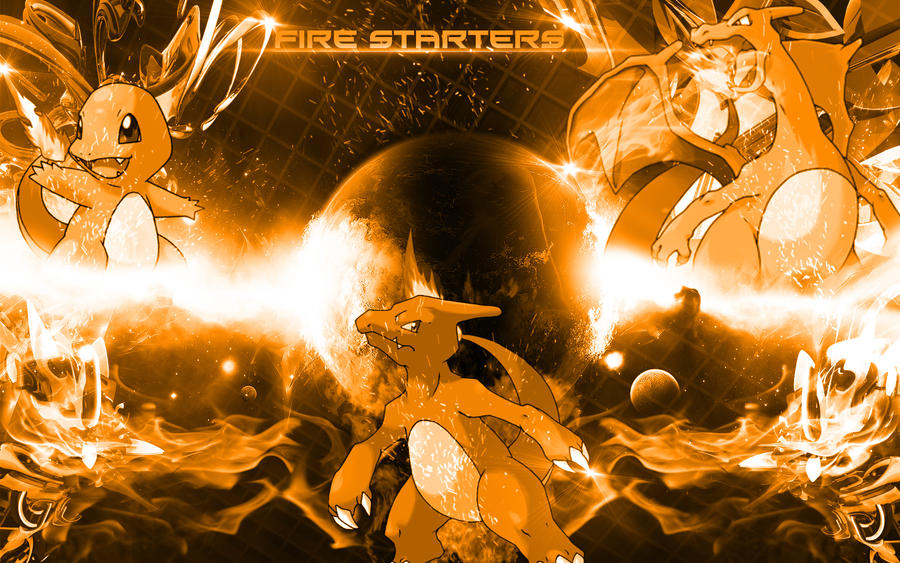 1st Gen Fire Starter Pokemon Desktop Wallpaper By Bdawg1000