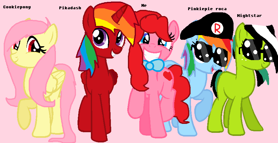 Friends From Equestria Amino And Me by PrincessMikkaito
