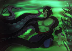 Submitting to the Sea Witch by GG-8