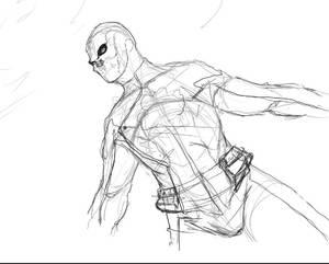 Shamrock - Peacekeeper Rough Sketch