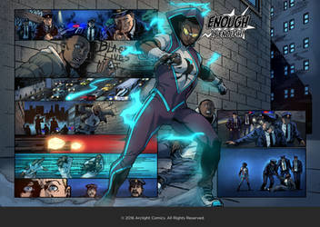Arclight Comics - Mini Issue #1 - Enough Is Enough