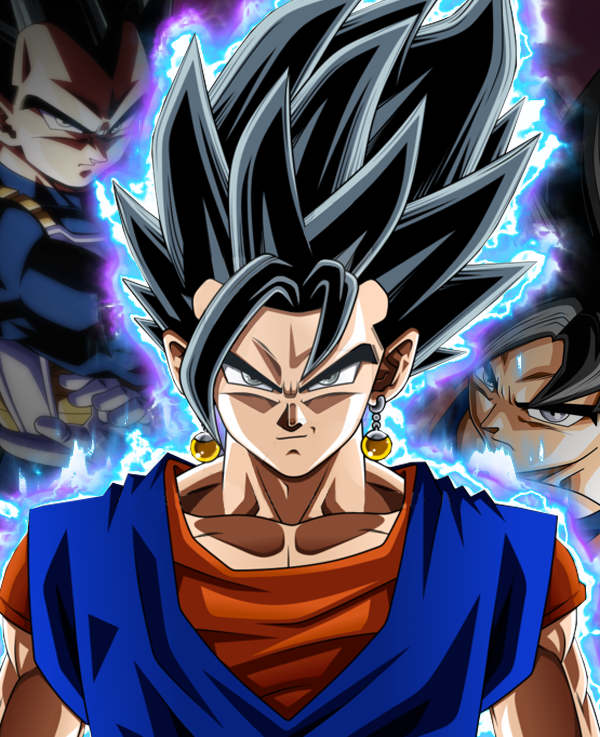 Ultra Instinct Dragon Ball Super Wallpaper: Vegito Ultra Instinct By Germ4nDBZ On DeviantArt