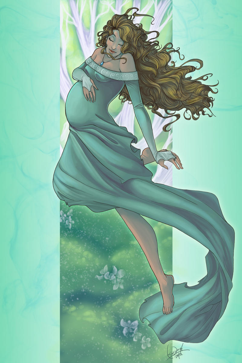 Commission: Lady Diana Aldoni by skardash