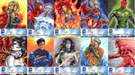 DC New 52 Sketch Cards: 11-20