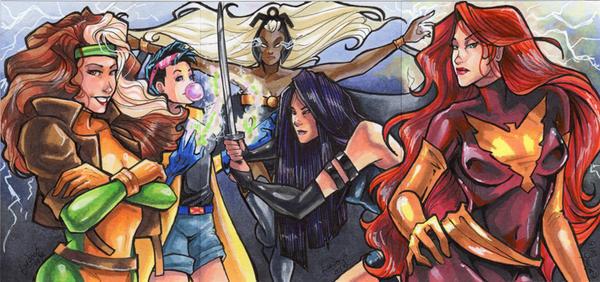 Commission: X-Ladies by skardash
