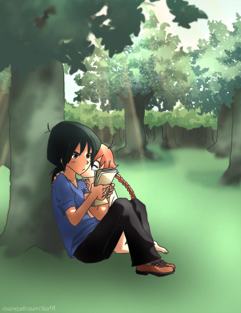 Fakiru's Happy End Kiss by mangadrawerika91