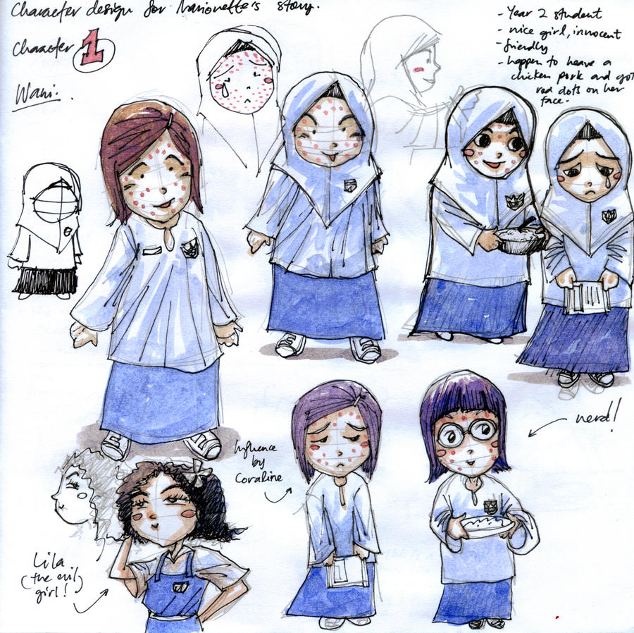 Character Design University : Character design school by wizardyoz on deviantart