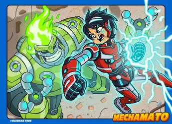 Mechamato battle!