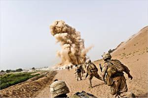 I.E.D. South Afghanistan by MilitaryPhotos