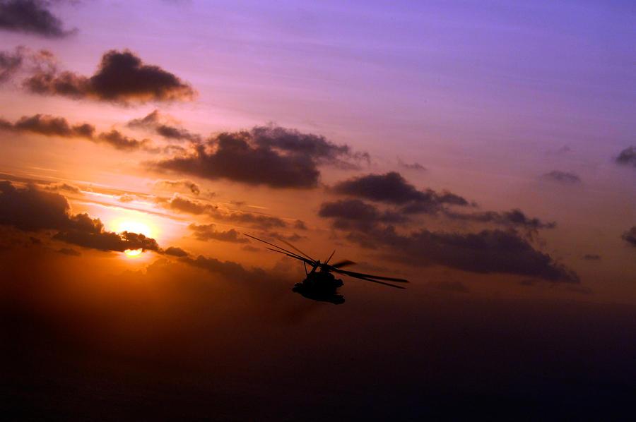 Djibouti Sunset by MilitaryPhotos