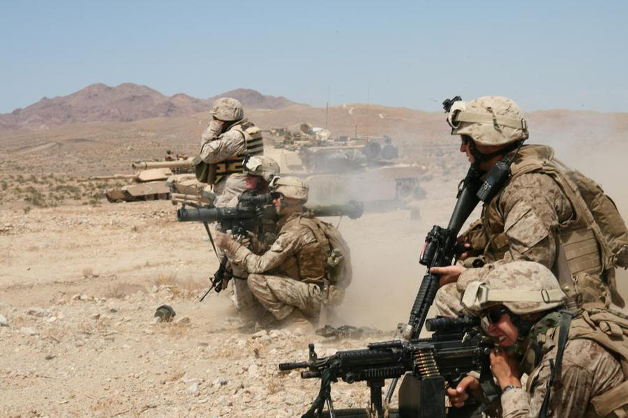Afghanistan Firing Range by MilitaryPhotos