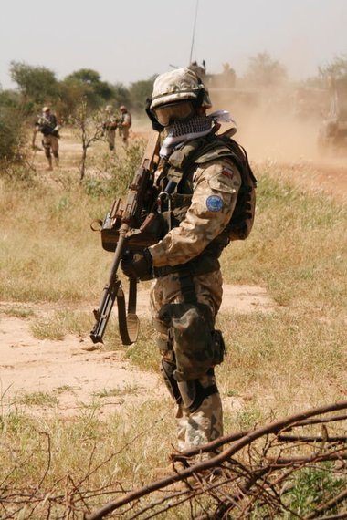 Polski Sodlier Czadu by MilitaryPhotos