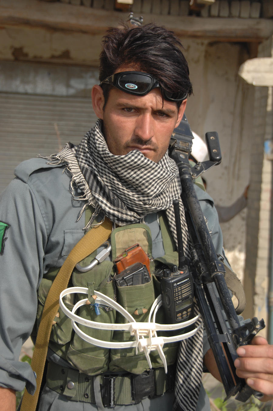 Afghanistan National Policeman by MilitaryPhotos