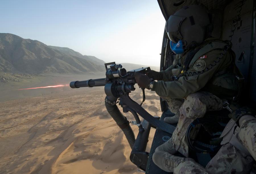 7.62mm M134 Minigun by MilitaryPhotos
