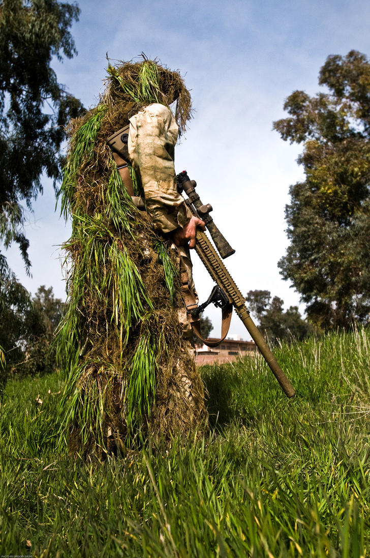 1-36 Infantry Sniper by MilitaryPhotos