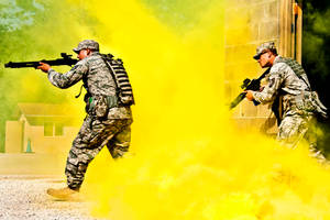 Assault Training by MilitaryPhotos