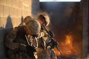 Urban Combat Exercise by MilitaryPhotos