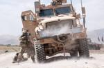 Firefight in Ghazni