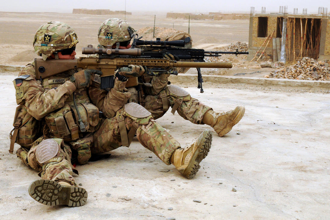 Sniper Scan by MilitaryPhotos