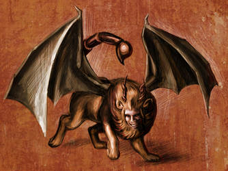 Manticore by Chiparoo