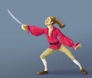 Swordsman by Chiparoo