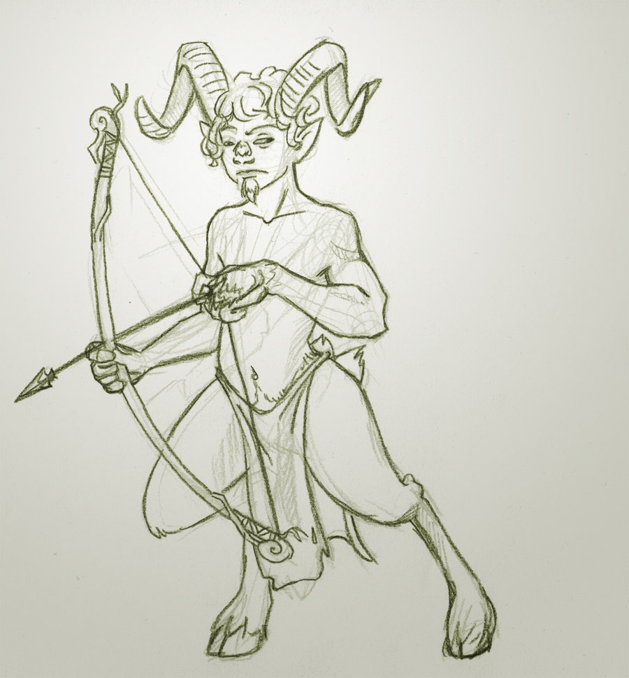 Satyr Sketch