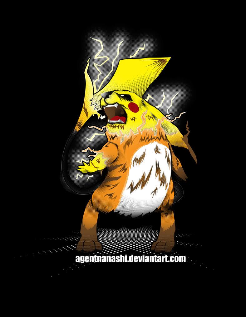 Fierce Evolution: Pikachu by AgentNanashi