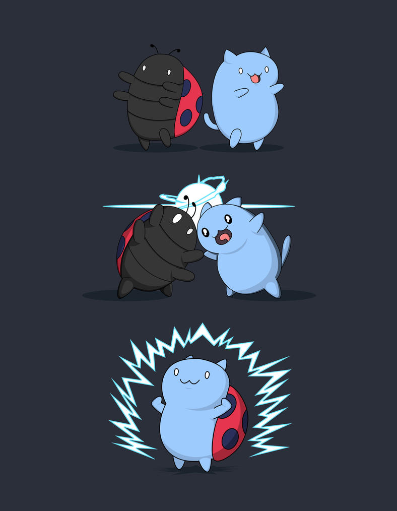 Fusion haaaa am catbug by agentnanashi on deviantart for Catbug coloring pages