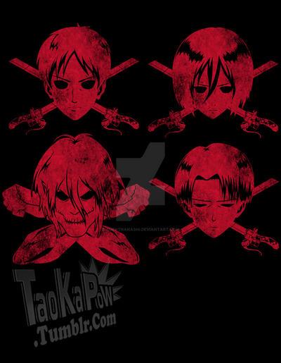 Attack on titans bonecross designs by agentnanashi on for Design attack