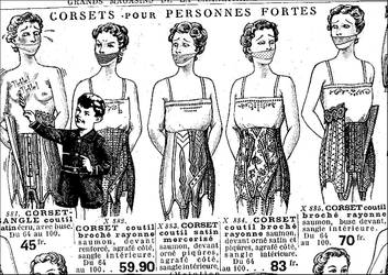 Vintage Girdle Ad-A01 by bobc1313