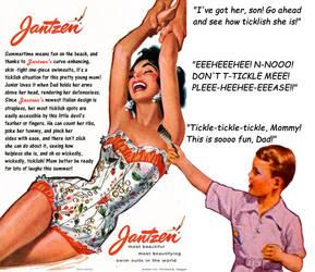 Ticklish Mom - Vintage Ad - A01 by bobc1313