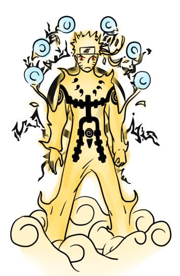 Naruto Sage of Six Paths Mode by boa91