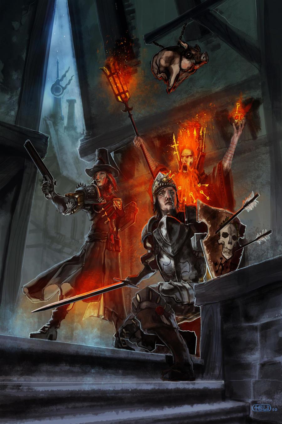 Warhammer - empire team by teli333