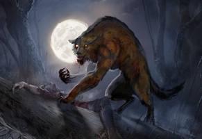 werewolf by teli333