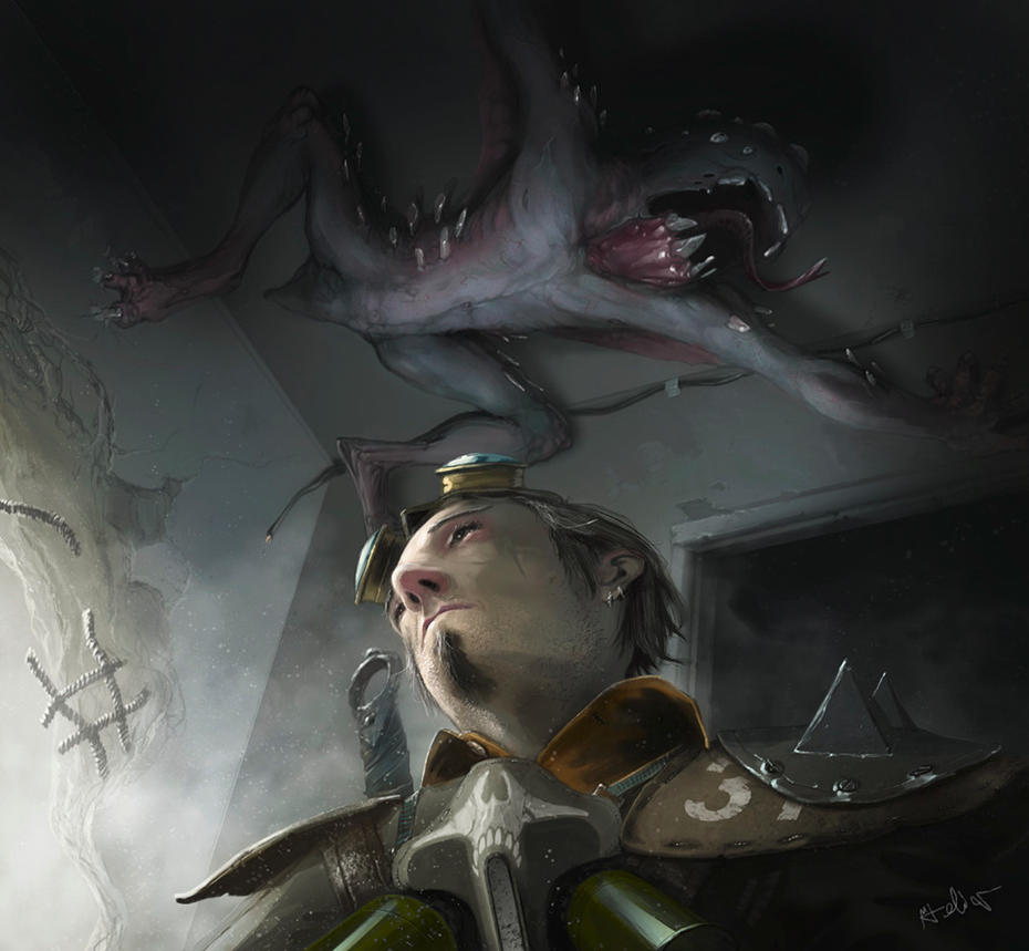 Waste Knights -mutant 01 by teli333