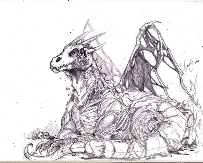 Zombie Dragon By Ignis-bruno On DeviantArt