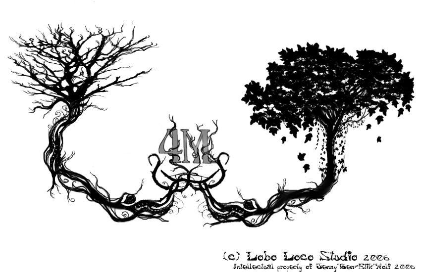 marcs tree tattoo design by genetik on deviantart