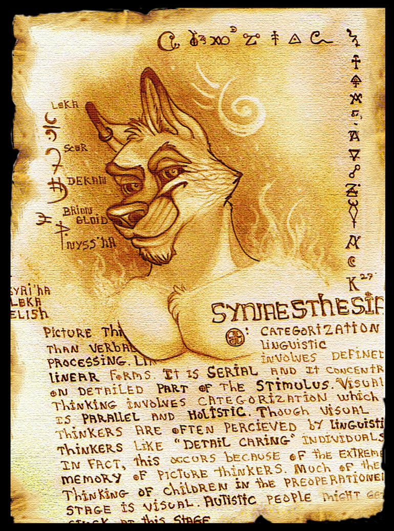 Synaesthesia by Gen-Etik