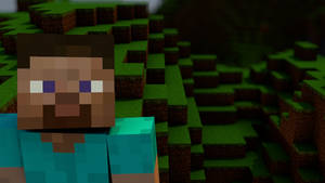 Minecraft Wallpaper, 'the guy' by MinecraftPL