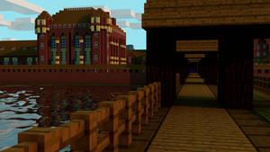 Minecraft Malbork Castle by MinecraftPL