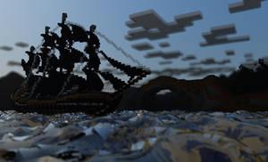 Minecraft Ship by MinecraftPL
