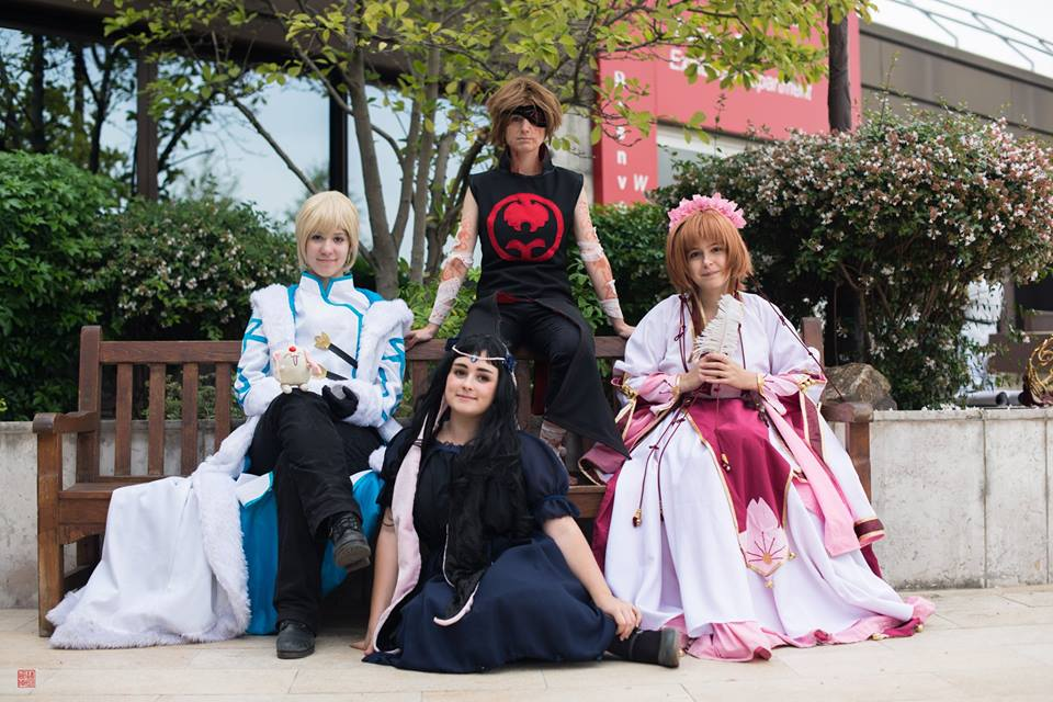 Tsubasa Reservoir Chronicle groupe by narutine
