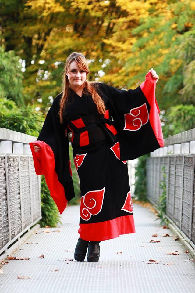 kimono Akatsuki by narutine