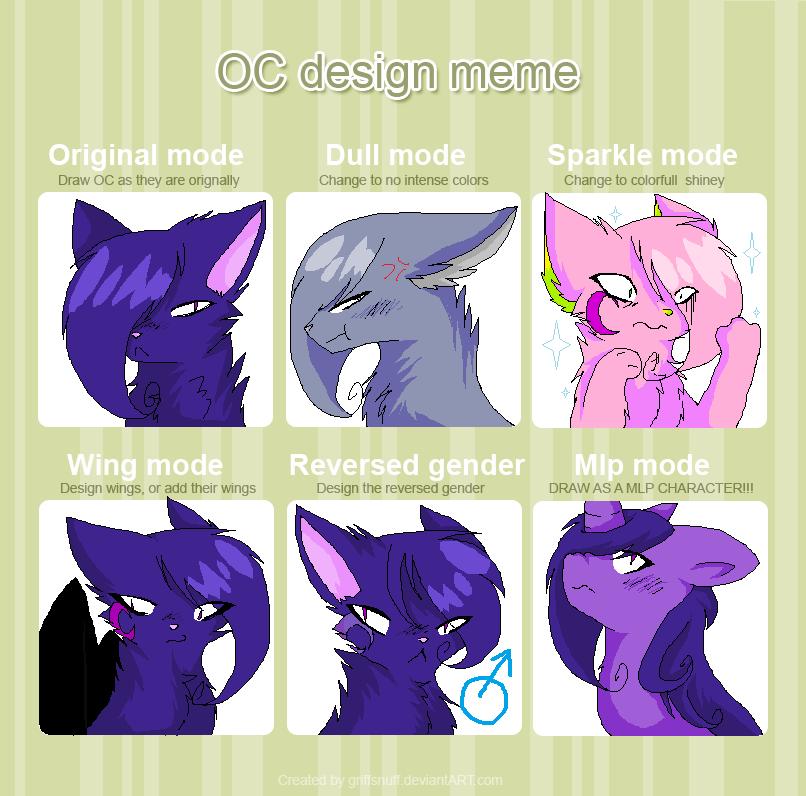 Character Design Meme : Character design meme by thecatseyefire on deviantart