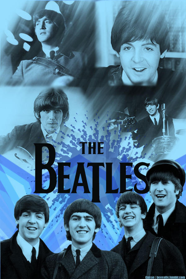 The Beatles Wallpaper (for iPhone) by beeeatle on DeviantArt