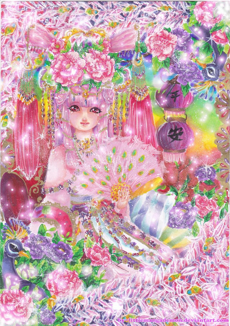 Goddess Pink by littlemangademon