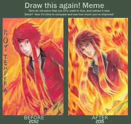 Flame : drawing again